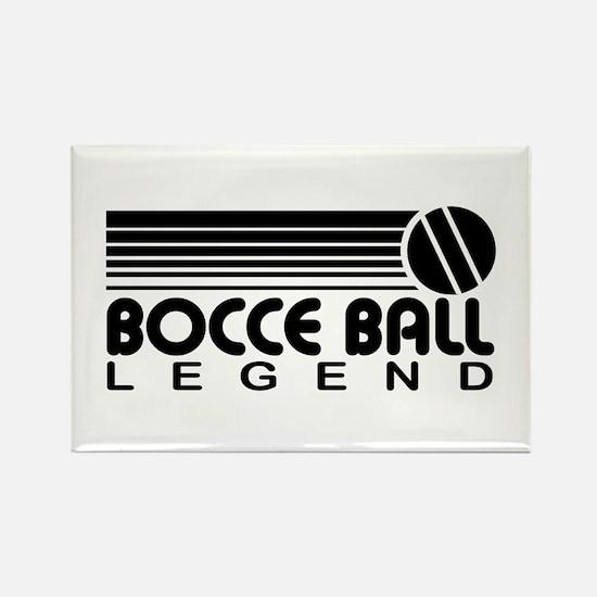 Bocce Ball Legend Rectangle Magnet