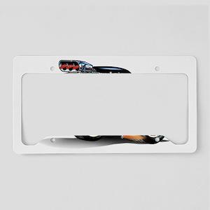 41willysBLACKFLAMEfloat License Plate Holder