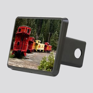 (2) caboose line Rectangular Hitch Cover