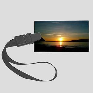 sunset2 Large Luggage Tag