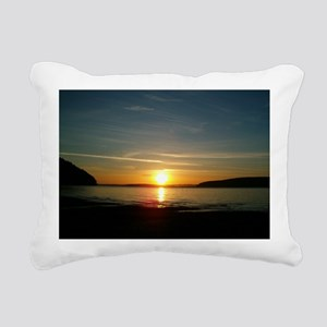 sunset2 Rectangular Canvas Pillow