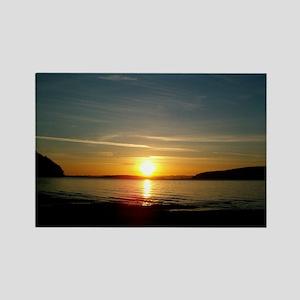 sunset2 Rectangle Magnet