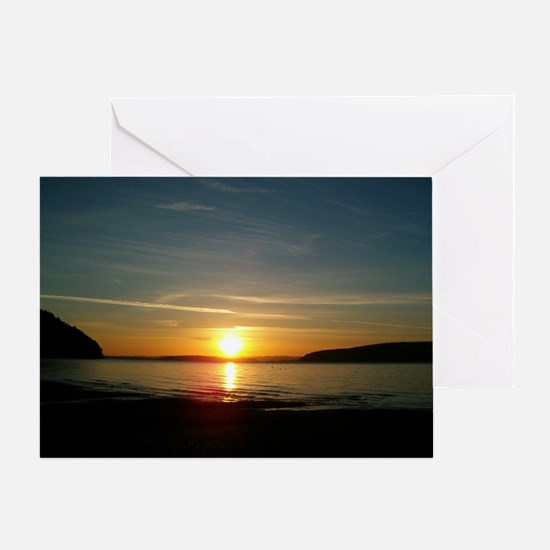 sunset2 Greeting Card