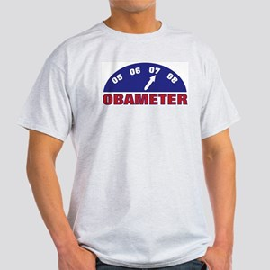 Obameter '08 Ash Grey T-Shirt