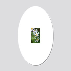 ChangingDaisy 20x12 Oval Wall Decal