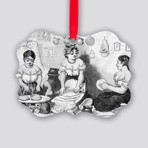 Making Tortillas by A Corbould af Picture Ornament