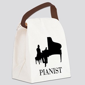 Pianist Canvas Lunch Bag
