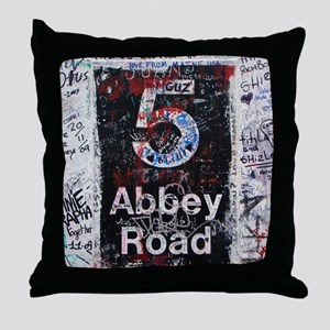 Abbey Road Throw Pillow