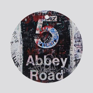 Abbey Road Round Ornament