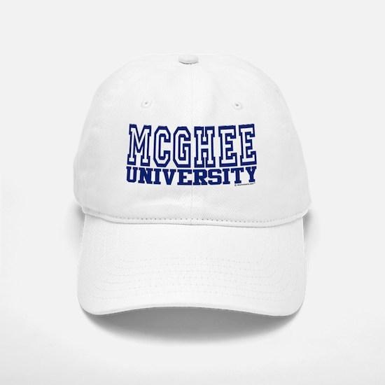 MCGHEE University Baseball Baseball Cap