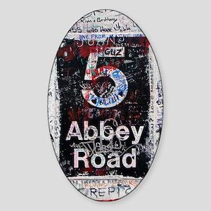 Abbey Road Sticker (Oval)