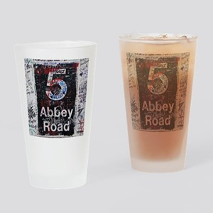 Abbey Road Drinking Glass