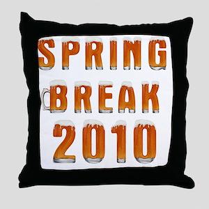 Spring Break 2010 A_1 Throw Pillow