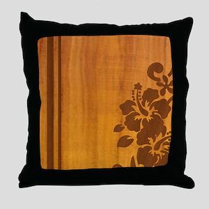 koahibiscuspadcase Throw Pillow