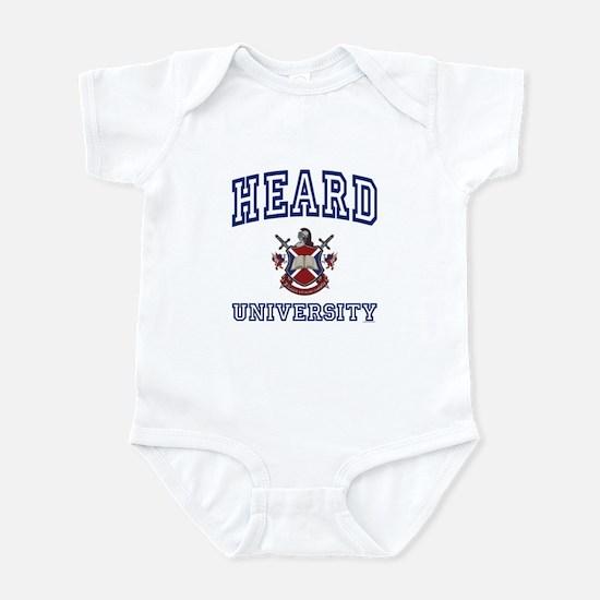 HEARD University Infant Bodysuit