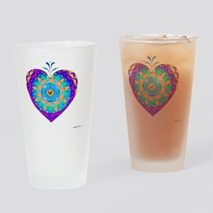 Anamalia Heart 10x10_all Drinking Glass