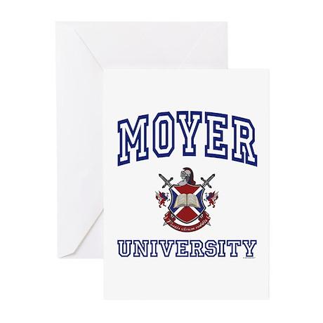 MOYER University Greeting Cards (Pk of 10)
