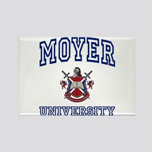 MOYER University Rectangle Magnet