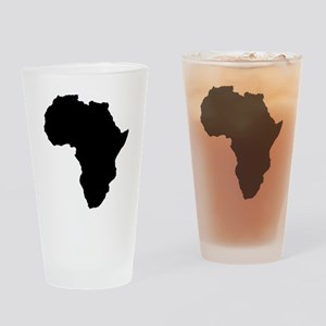 Shape map of AFRICA Drinking Glass