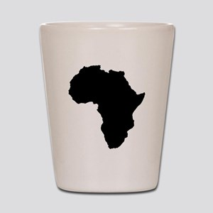 Shape map of AFRICA Shot Glass