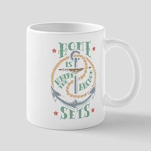 Anchor Home Mug