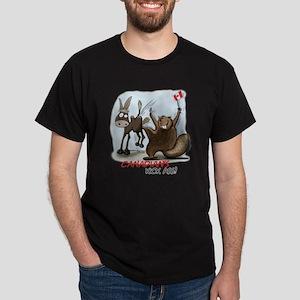 Canadians Kick Ass Dark T-Shirt