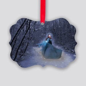 Winter Queen Picture Ornament