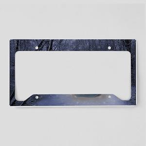 Winter Queen License Plate Holder