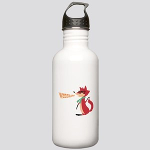 Fox Say Wassup! Stainless Water Bottle 1.0L