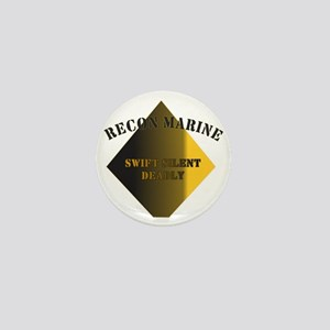 Recon Marine Mini Button