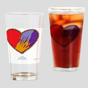 Libra 10x10_all Drinking Glass
