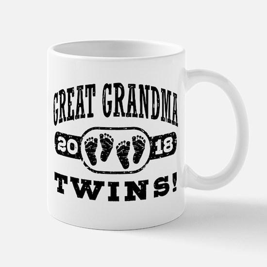 Great Grandma 2018 Twins Mug