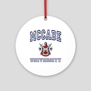 MCCABE University Ornament (Round)
