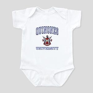 QUINONES University Infant Bodysuit