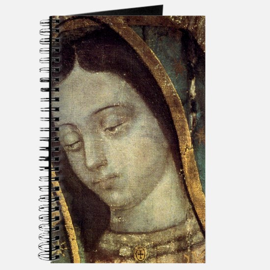Our Lady of Guadalupe - close up Journal