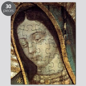 Our Lady of Guadalupe - close up Puzzle