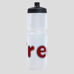 Fred Santa Fur Sports Bottle