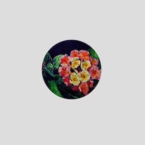 blossom watercolor Mini Button