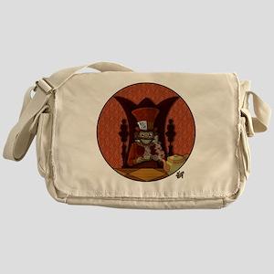 Mad Hatter Shirt Messenger Bag