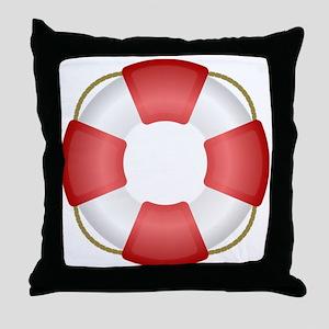 Life Preserver Throw Pillow