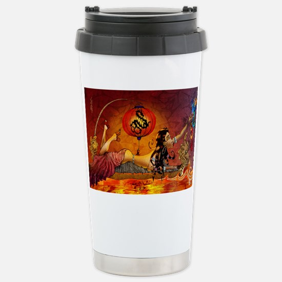 phoenix11x17 posters Stainless Steel Travel Mug