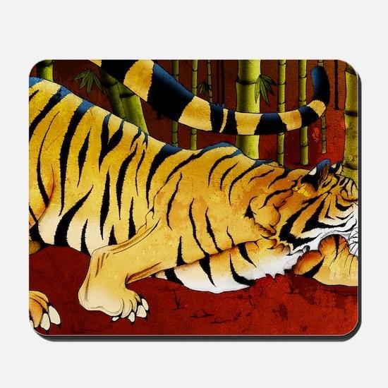 tigerbamboo11x17 posters Mousepad