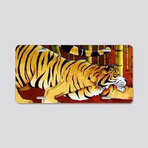 tigerbamboo11x17 posters Aluminum License Plate