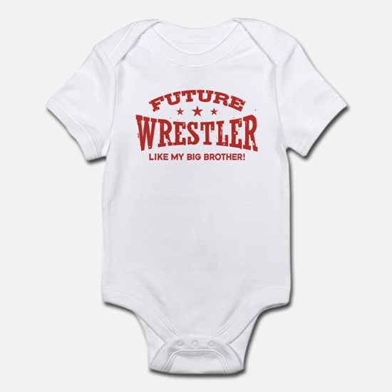 Future Wrestler Like My Big Brother Infant Bodysui