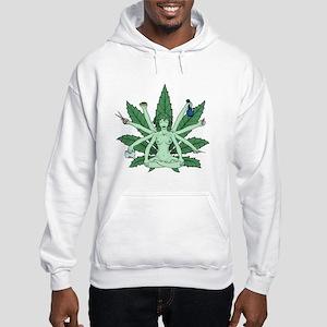 Ganja Girl Hooded Sweatshirt