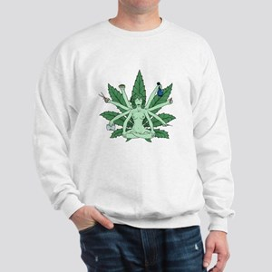 Ganja Girl Sweatshirt