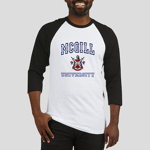 MCGILL University Baseball Jersey