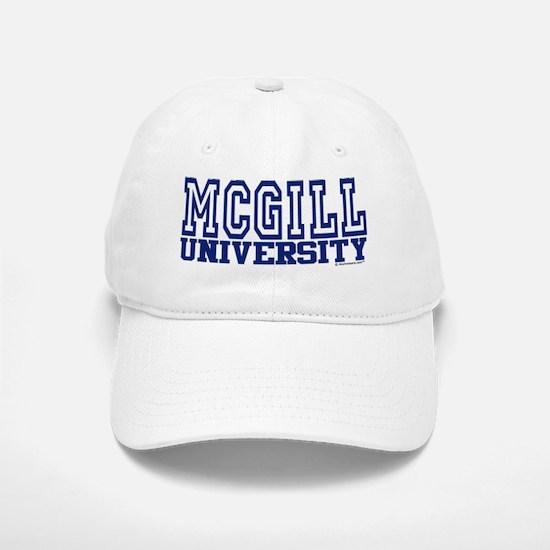 MCGILL University Baseball Baseball Cap