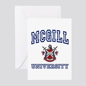 MCGILL University Greeting Cards (Pk of 10)