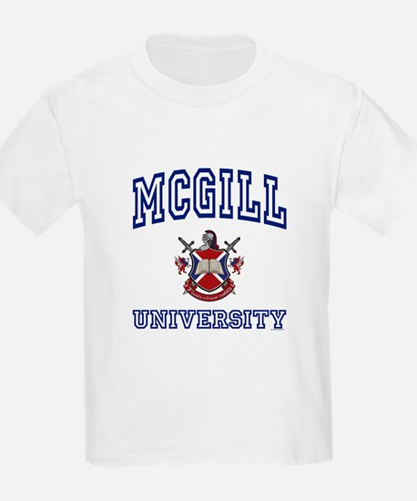 MCGILL University Kids T-Shirt